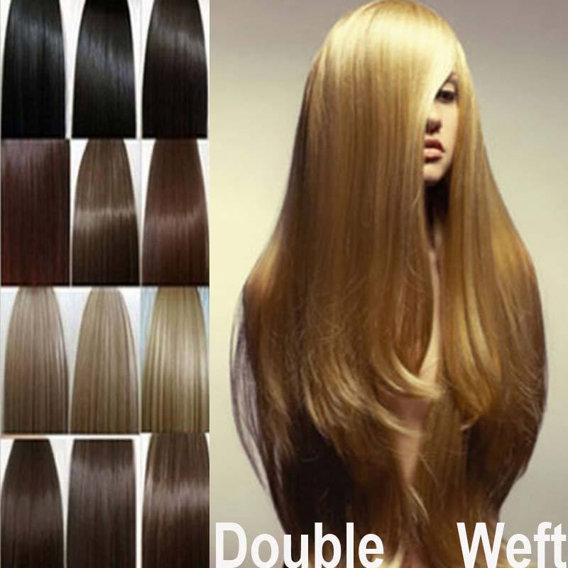 Russian Human Remi Hair Blonde Stunning Hair Extensions